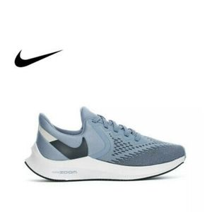 Nike Zoom Winflo 6 Running Shoes Blue White